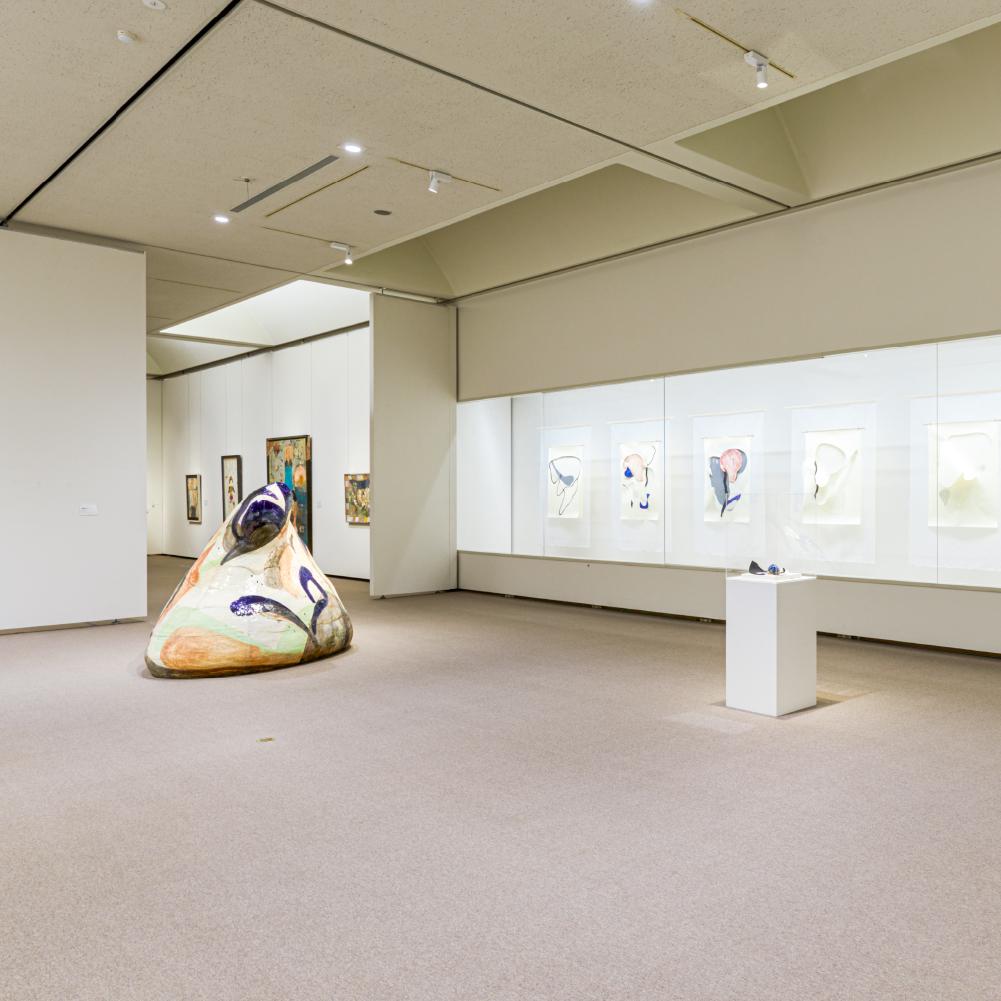 Installation view @ 6つの個展 2020